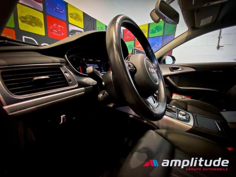 Audi A6 3.0 V6 TDI 272ch Ambition Luxe quattro S tronic 7 Bleu occasion à Dijon - photo n°14