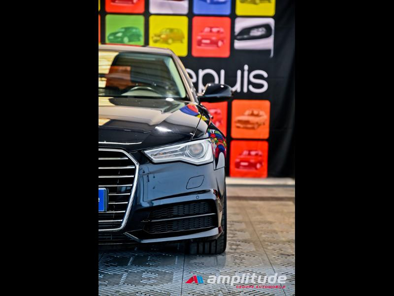 Audi A6 3.0 V6 TDI 272ch Ambition Luxe quattro S tronic 7 Bleu occasion à Dijon - photo n°11