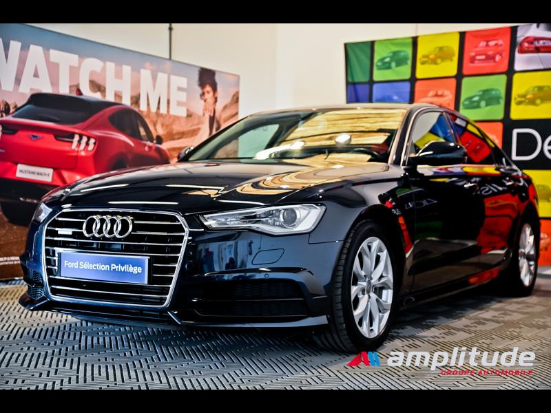 Audi A6 3.0 V6 TDI 272ch Ambition Luxe quattro S tronic 7 Bleu occasion à Dijon - photo n°3