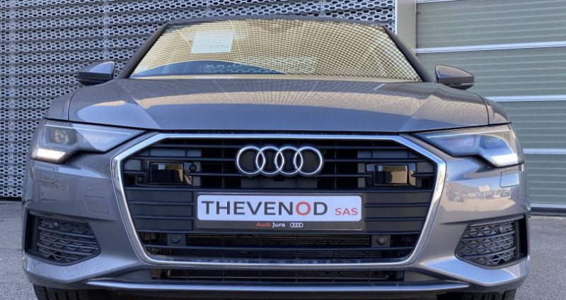 Audi A6 35 TDI 163 ch S tronic 7 Business Executive Gris occasion à Lons Le Saunier - photo n°3