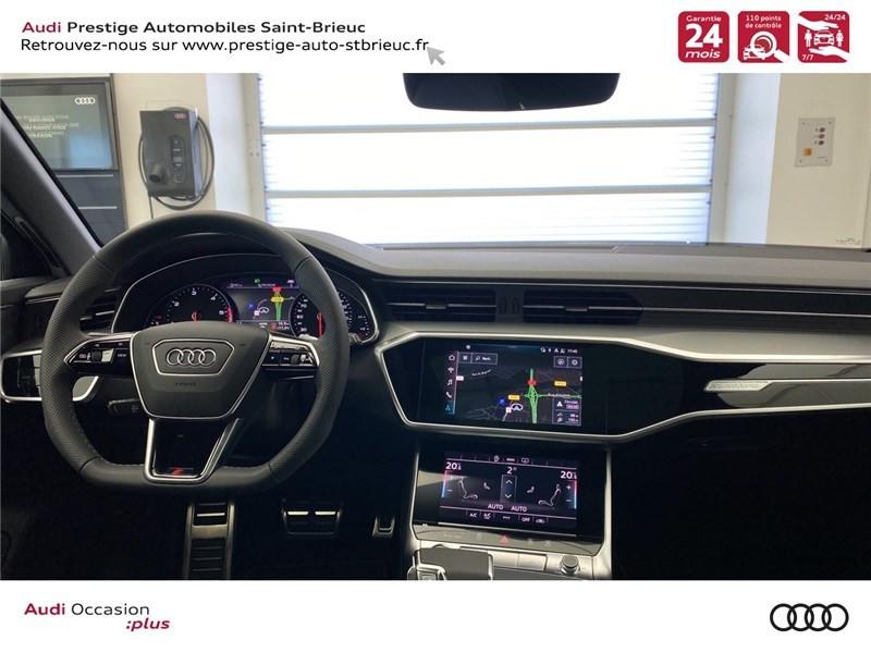 Audi A6 40 TDI 204 CH QUATTRO S TRONIC 7 Blanc occasion à Saint-Brieuc - photo n°4