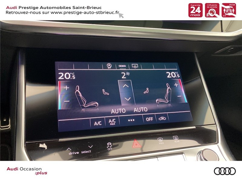 Audi A6 40 TDI 204 CH QUATTRO S TRONIC 7 Blanc occasion à Saint-Brieuc - photo n°7