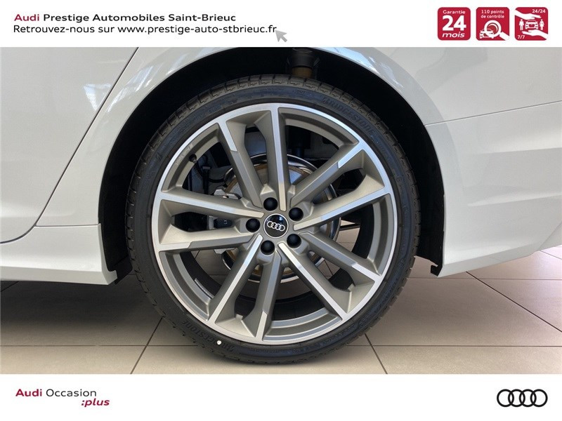 Audi A6 40 TDI 204 CH QUATTRO S TRONIC 7 Blanc occasion à Saint-Brieuc - photo n°6