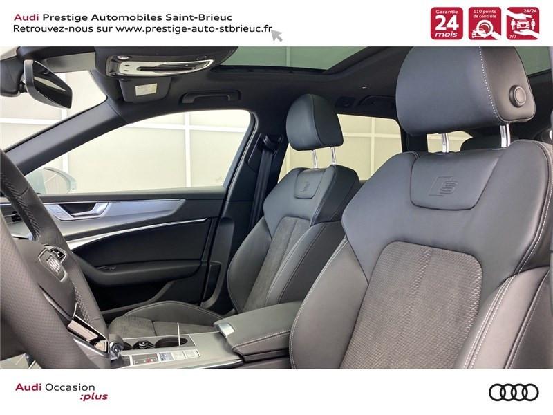 Audi A6 40 TDI 204 CH QUATTRO S TRONIC 7 Blanc occasion à Saint-Brieuc - photo n°5