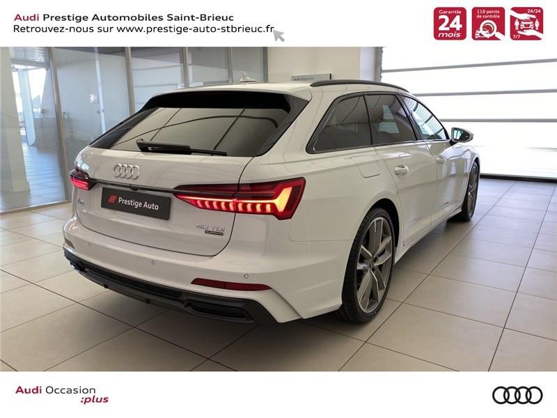 Audi A6 40 TDI 204 CH QUATTRO S TRONIC 7 Blanc occasion à Saint-Brieuc - photo n°3