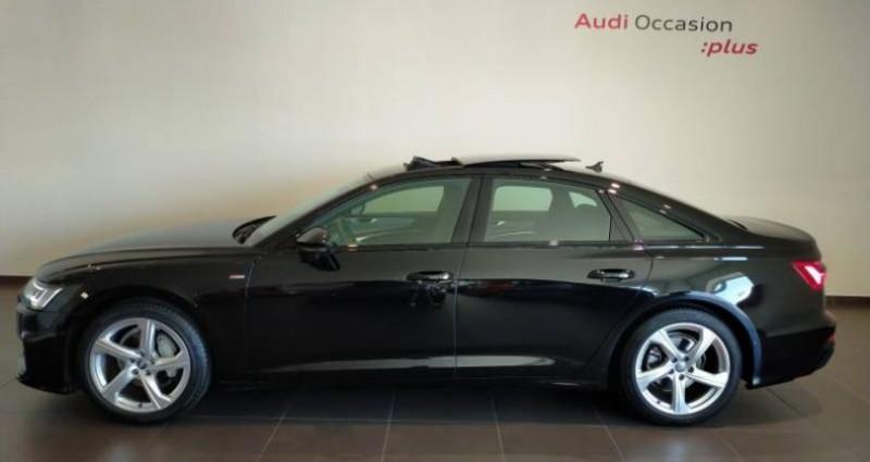 Audi A6 40 TDI 204 ch S tronic 7 S line Noir occasion à Chenove - photo n°4