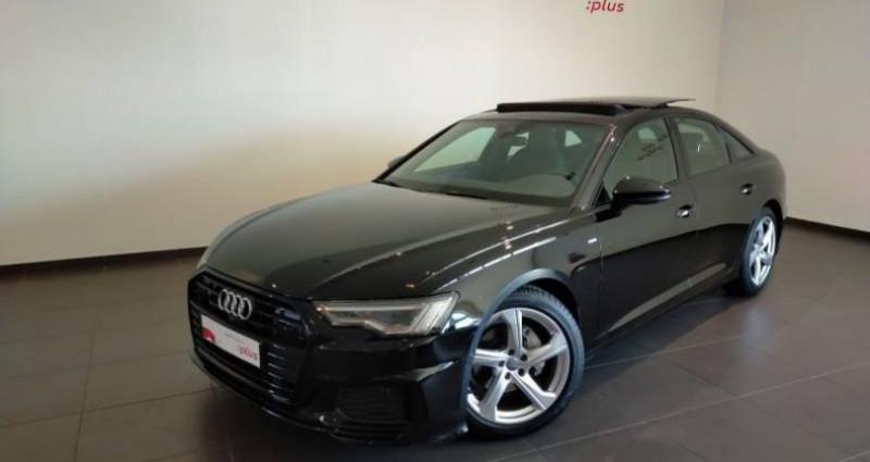 Audi A6 40 TDI 204 ch S tronic 7 S line Noir occasion à Chenove