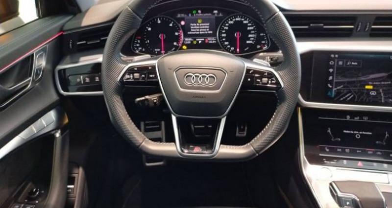 Audi A6 40 TDI 204 ch S tronic 7 S line Noir occasion à Chenove - photo n°5