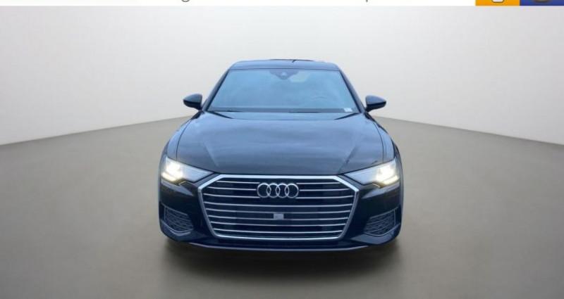 Audi A6 40 TDI 204 ch S tronic 7 Noir occasion à LA GRAND CROIX - photo n°2