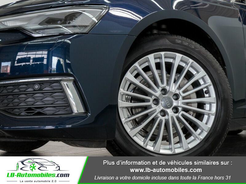 Audi A6 40 TDI 204 S tronic Bleu occasion à Beaupuy - photo n°6