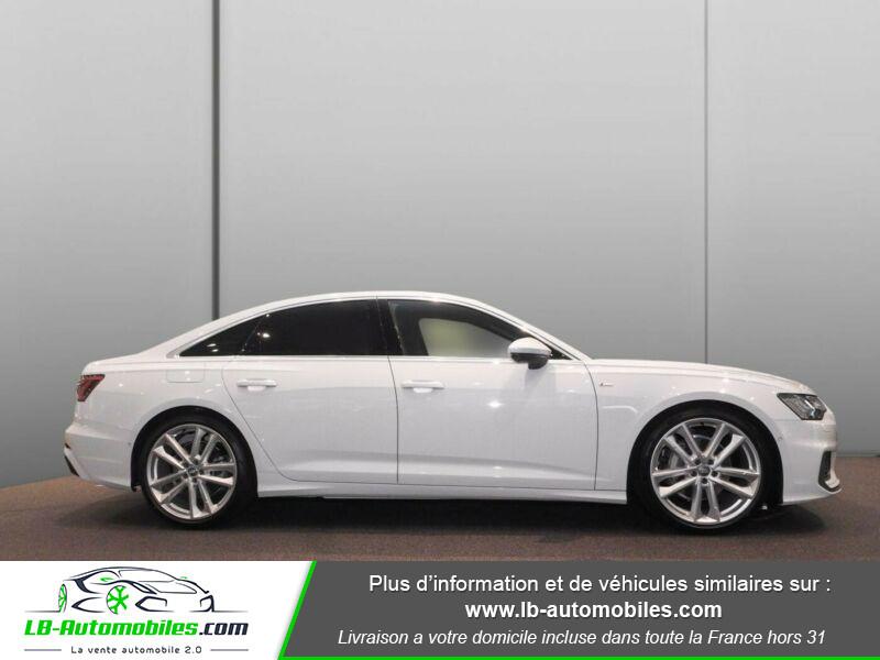 Audi A6 45 TFSI 245 S-tronic Blanc occasion à Beaupuy - photo n°4