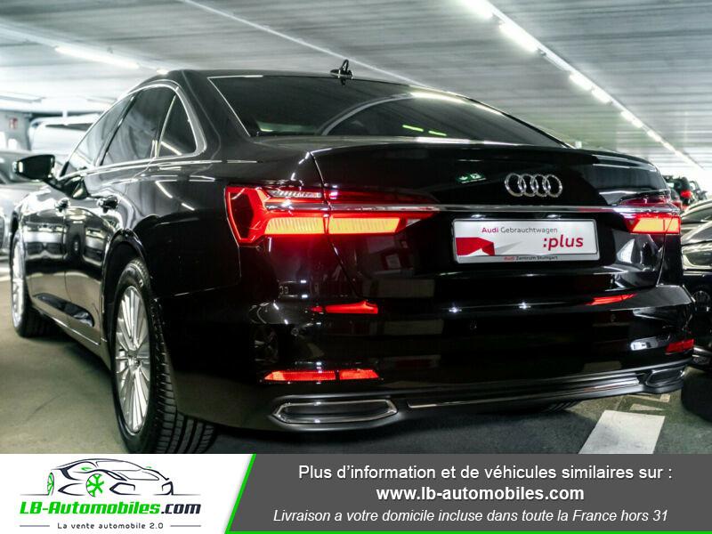Audi A6 45 TFSI 245 S-tronic Noir occasion à Beaupuy - photo n°3