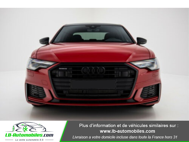 Audi A6 45 TFSI 245 S-tronic Rouge occasion à Beaupuy - photo n°4