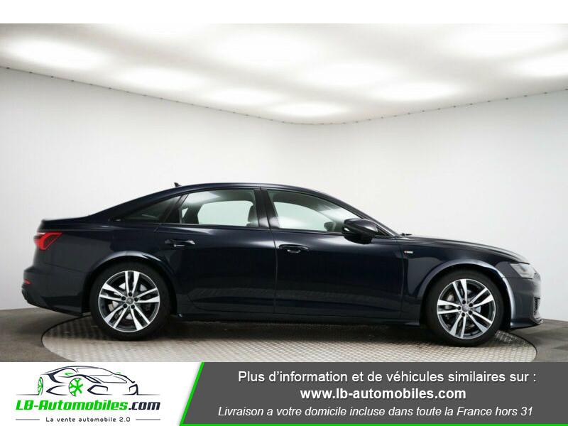 Audi A6 45 TFSI 245 S-tronic Bleu occasion à Beaupuy - photo n°7