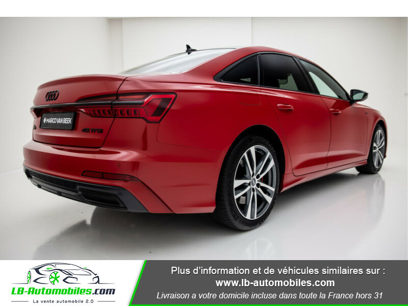 Audi A6 45 TFSI 245 S-tronic Rouge occasion à Beaupuy - photo n°3