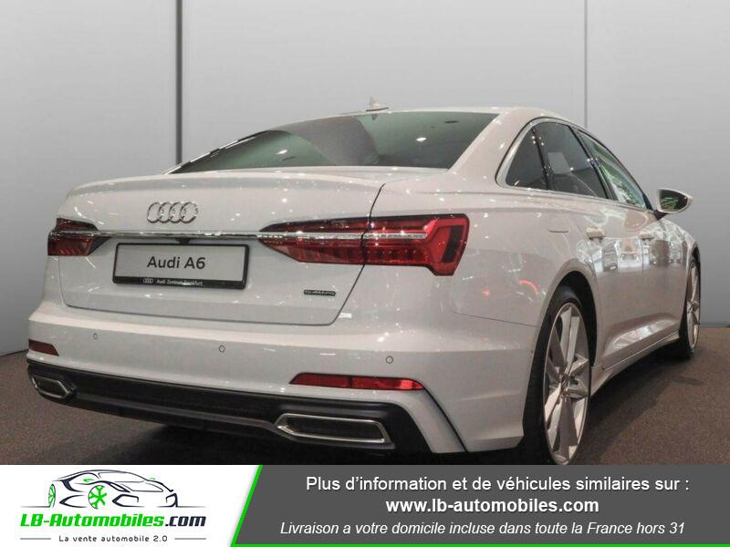 Audi A6 45 TFSI 245 S-tronic Blanc occasion à Beaupuy - photo n°3