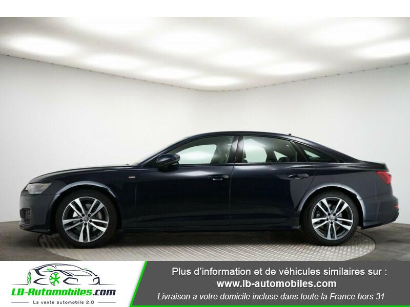 Audi A6 45 TFSI 245 S-tronic Bleu occasion à Beaupuy - photo n°6