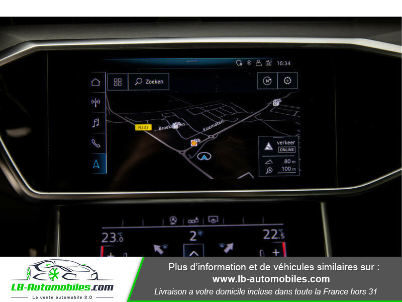 Audi A6 45 TFSI 245 S-tronic Rouge occasion à Beaupuy - photo n°9