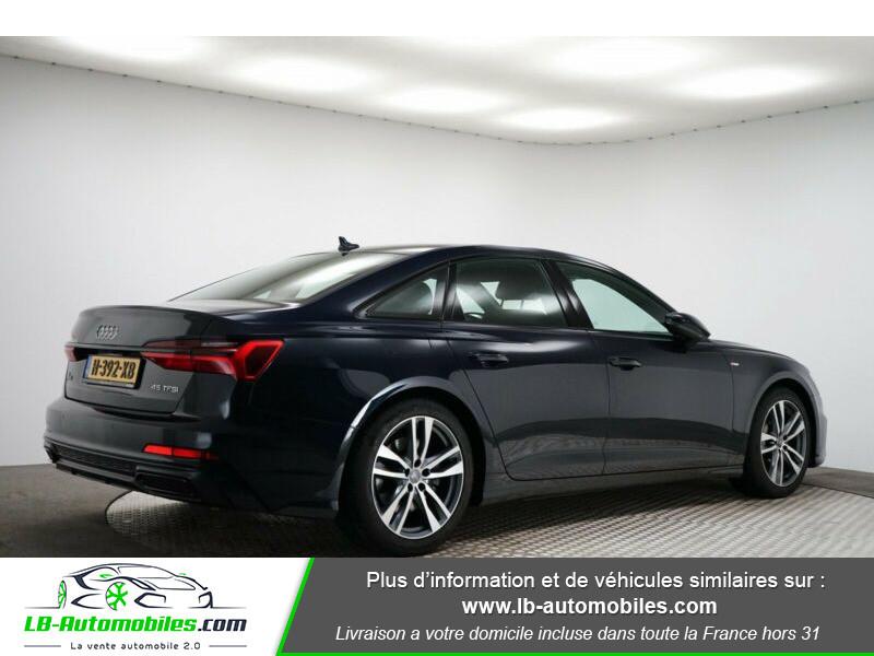 Audi A6 45 TFSI 245 S-tronic Bleu occasion à Beaupuy - photo n°3