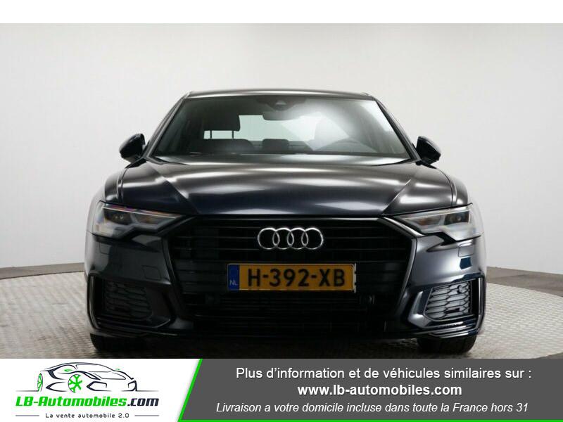 Audi A6 45 TFSI 245 S-tronic Bleu occasion à Beaupuy - photo n°4