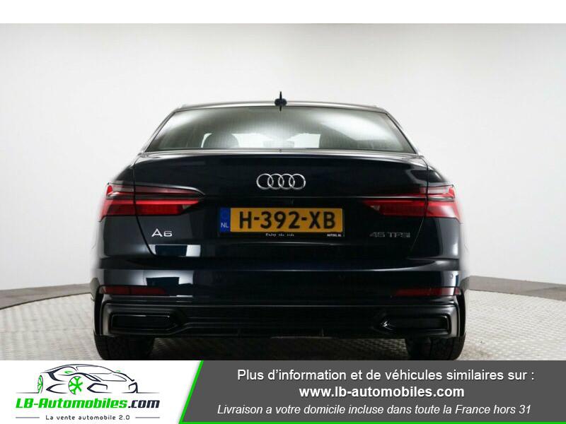 Audi A6 45 TFSI 245 S-tronic Bleu occasion à Beaupuy - photo n°5