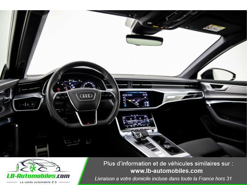 Audi A6 45 TFSI 245 S-tronic Rouge occasion à Beaupuy - photo n°6