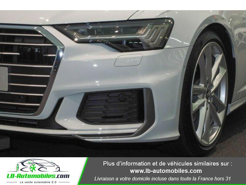 Audi A6 45 TFSI 245 S-tronic Blanc occasion à Beaupuy - photo n°7