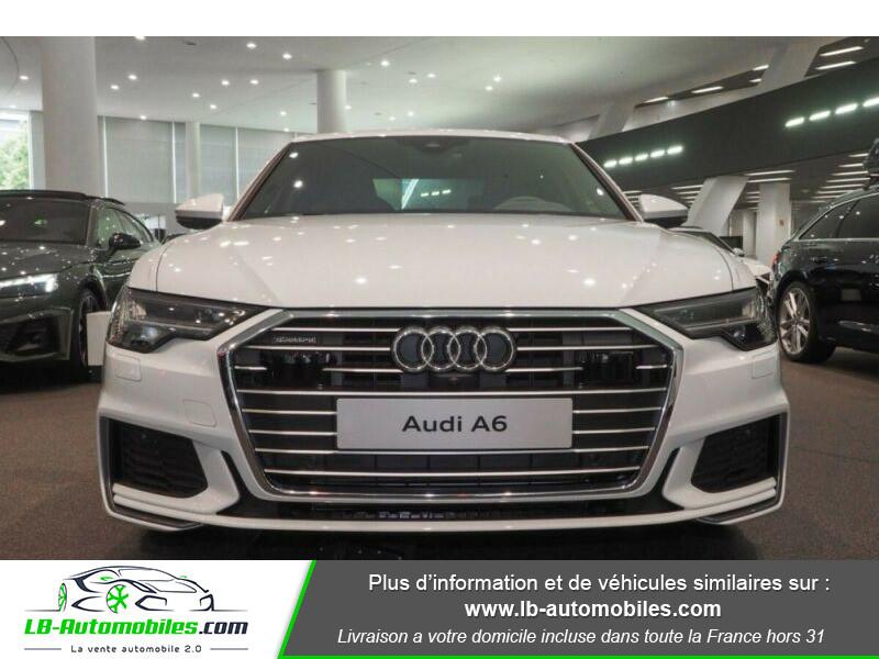 Audi A6 45 TFSI 245 S-tronic Blanc occasion à Beaupuy - photo n°5