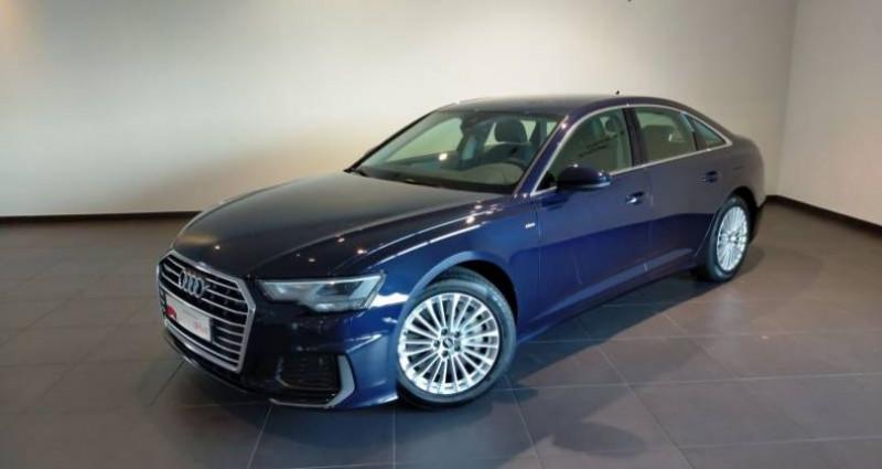 Audi A6 50 TFSIe 299 ch S tronic 7 Quattro Avus Extended Bleu occasion à Chenove