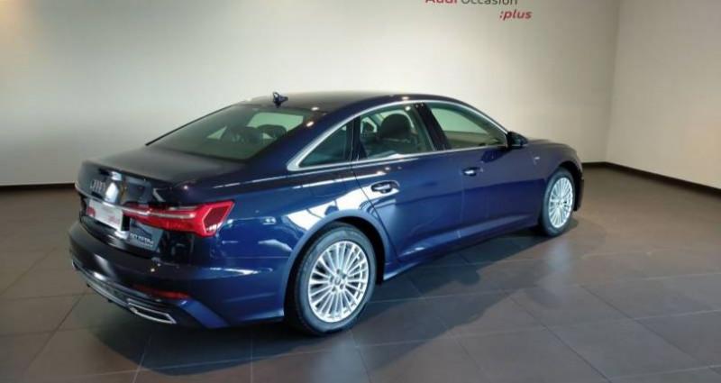 Audi A6 50 TFSIe 299 ch S tronic 7 Quattro Avus Extended Bleu occasion à Chenove - photo n°3