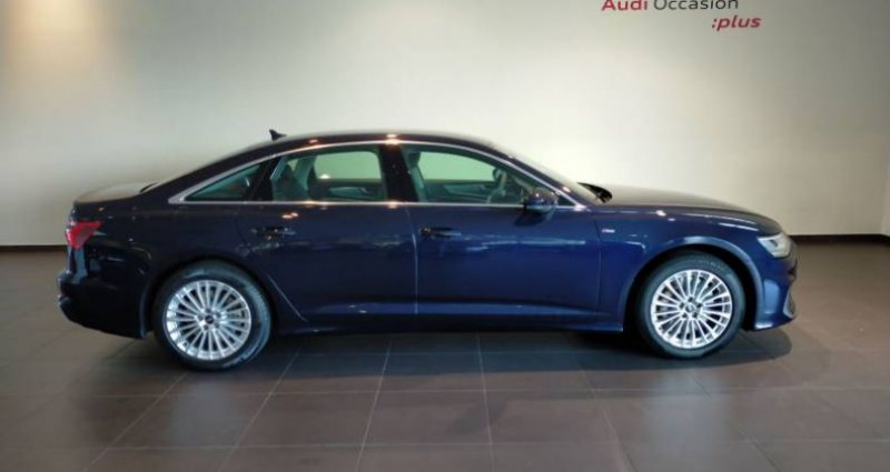 Audi A6 50 TFSIe 299 ch S tronic 7 Quattro Avus Extended Bleu occasion à Chenove - photo n°2