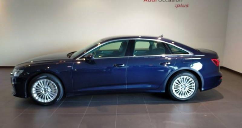 Audi A6 50 TFSIe 299 ch S tronic 7 Quattro Avus Extended Bleu occasion à Chenove - photo n°4
