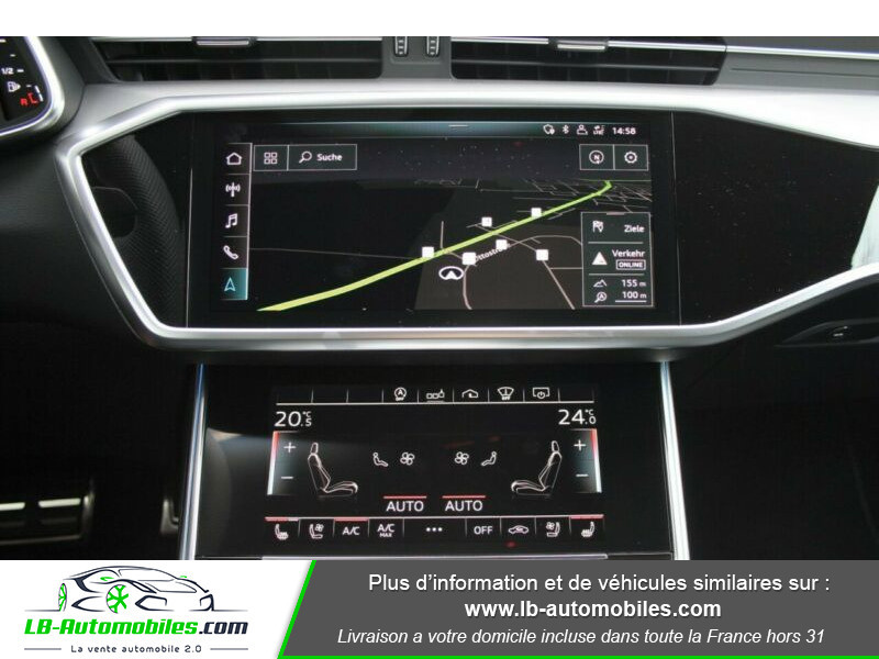 Audi A6 55 TFSIe 367 ch S tronic Gris occasion à Beaupuy - photo n°14