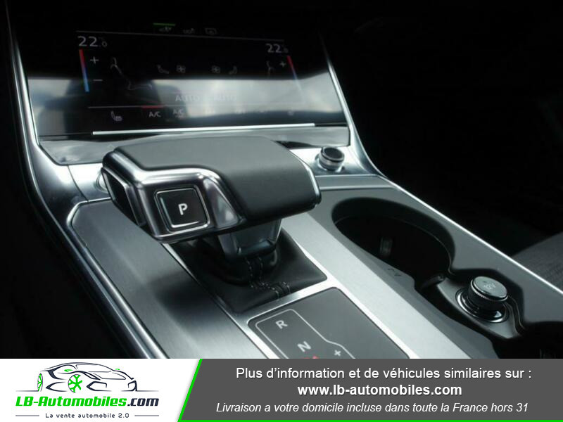 Audi A6 55 TFSIe 367 ch S tronic Blanc occasion à Beaupuy - photo n°9