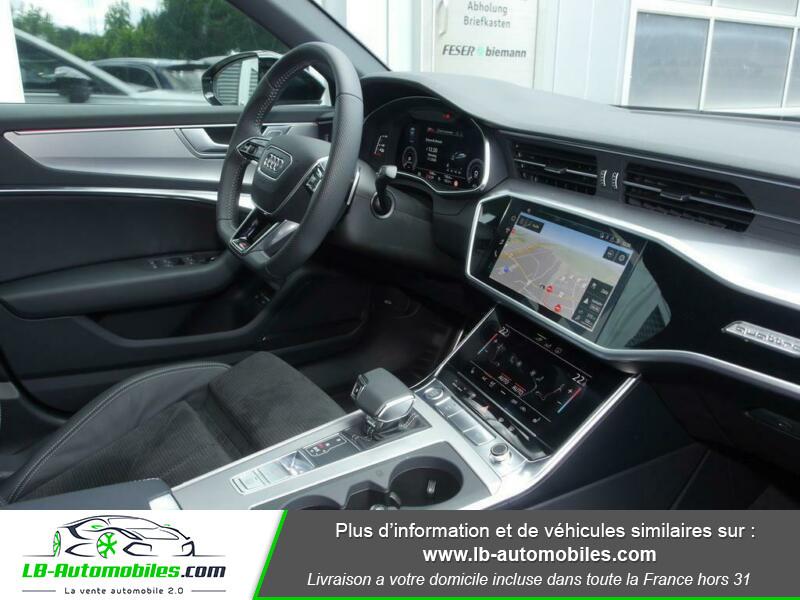 Audi A6 55 TFSIe 367 ch S tronic Blanc occasion à Beaupuy - photo n°4