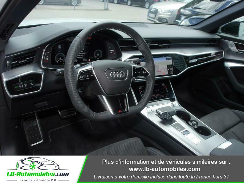 Audi A6 55 TFSIe 367 ch S tronic Blanc occasion à Beaupuy - photo n°2