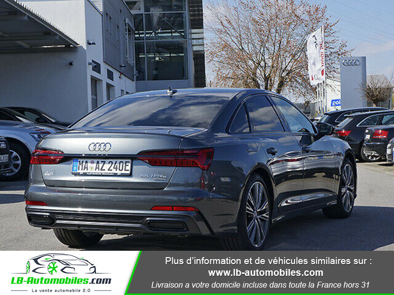 Audi A6 55 TFSIe 367 ch S tronic Gris occasion à Beaupuy - photo n°3