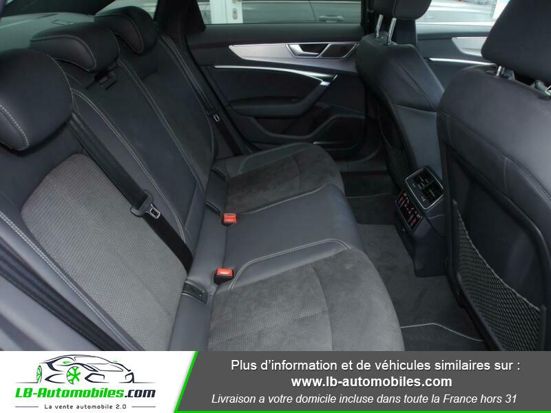 Audi A6 55 TFSIe 367 ch S tronic Blanc occasion à Beaupuy - photo n°6