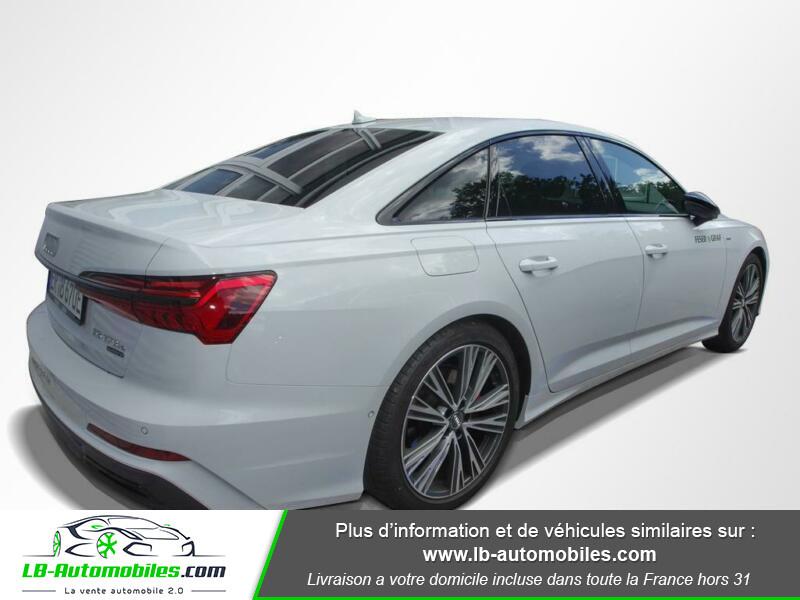 Audi A6 55 TFSIe 367 ch S tronic Blanc occasion à Beaupuy - photo n°3