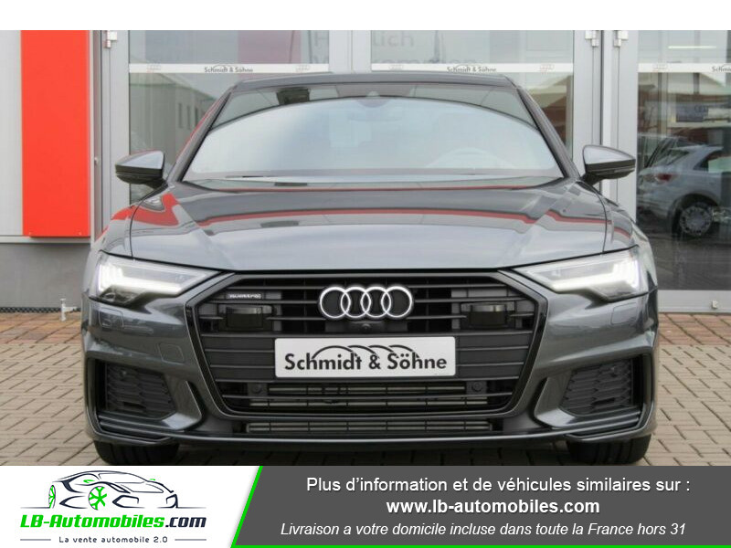 Audi A6 55 TFSIe 367 ch S tronic Gris occasion à Beaupuy - photo n°5