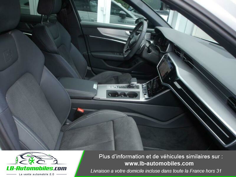 Audi A6 55 TFSIe 367 ch S tronic Blanc occasion à Beaupuy - photo n°5