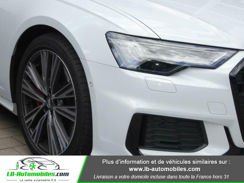 Audi A6 55 TFSIe 367 ch S tronic Blanc occasion à Beaupuy - photo n°12