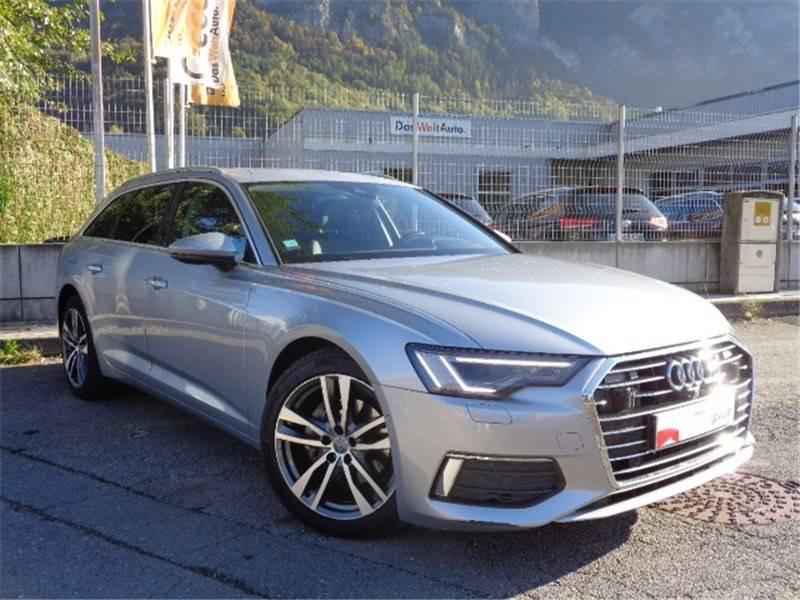 Audi A6 A6 Avant 40 TDI 204 ch S tronic 7 Avus 5p Gris occasion à Seynod - photo n°5