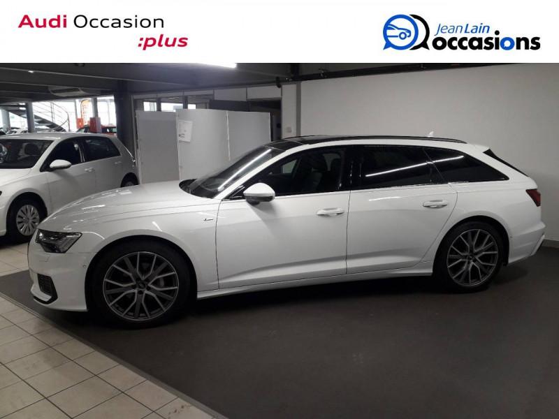 Audi A6 A6 Avant 40 TDI 204 ch S tronic 7 Quattro S line 5p Blanc occasion à Annemasse - photo n°8