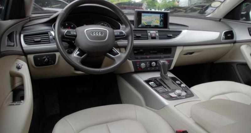 Audi A6 BUSINESS IV (2) 2.0 TDI ULTRA 190 LINE S tronic Noir occasion à Chambourcy - photo n°2