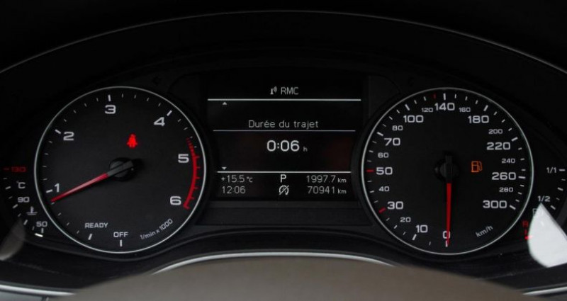 Audi A6 BUSINESS IV (2) 2.0 TDI ULTRA 190 LINE S tronic Noir occasion à Chambourcy - photo n°5