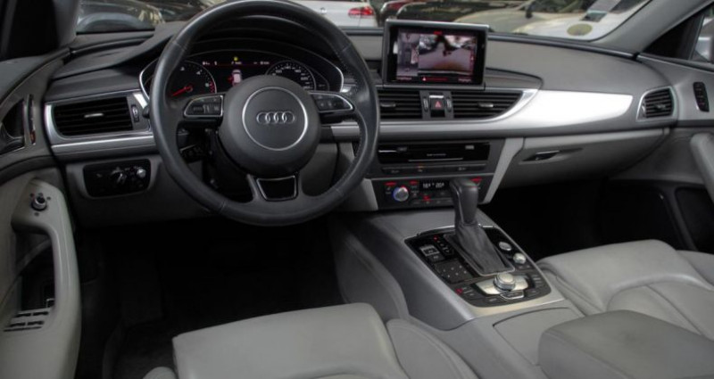 Audi A6 IV (2) AVANT 2.0 TDI ULTRA 190 AVUS S tronic Gris occasion à Chambourcy - photo n°2