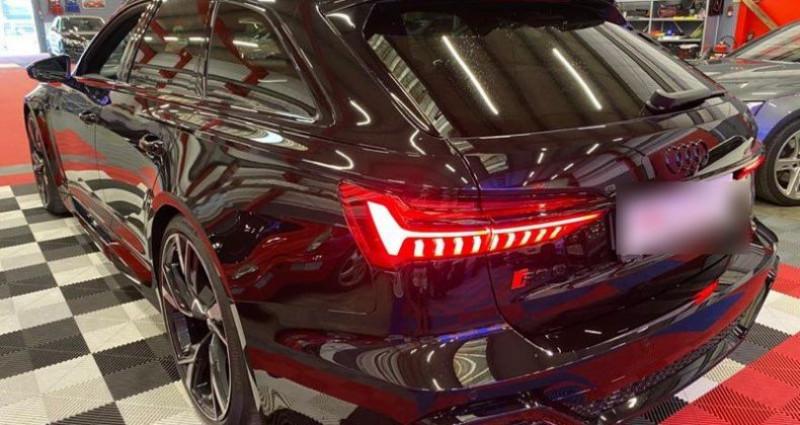 Audi A6 Rs6 c8 2020 Noir occasion à Brie-Comte-Robert - photo n°3