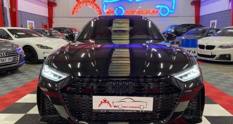 Audi A6 Rs6 c8 2020 Noir occasion à Brie-Comte-Robert