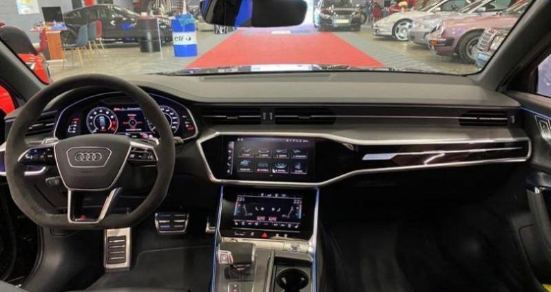 Audi A6 Rs6 c8 2020 Noir occasion à Brie-Comte-Robert - photo n°4
